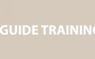 New Tourist Guide Training
