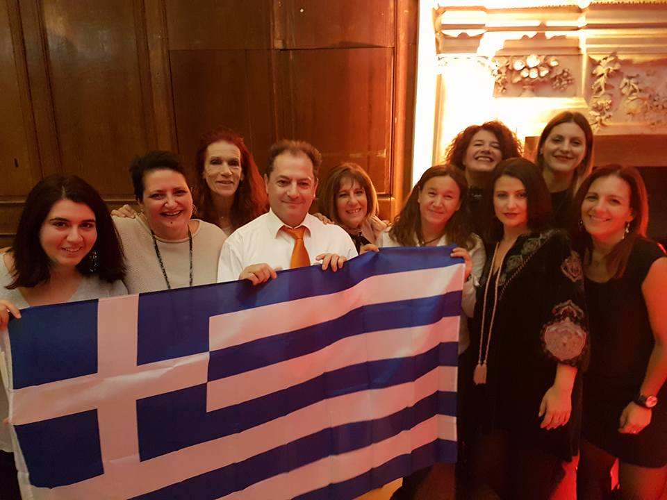 GREEK DELEGATION IN FEG AGM  DUBLIN