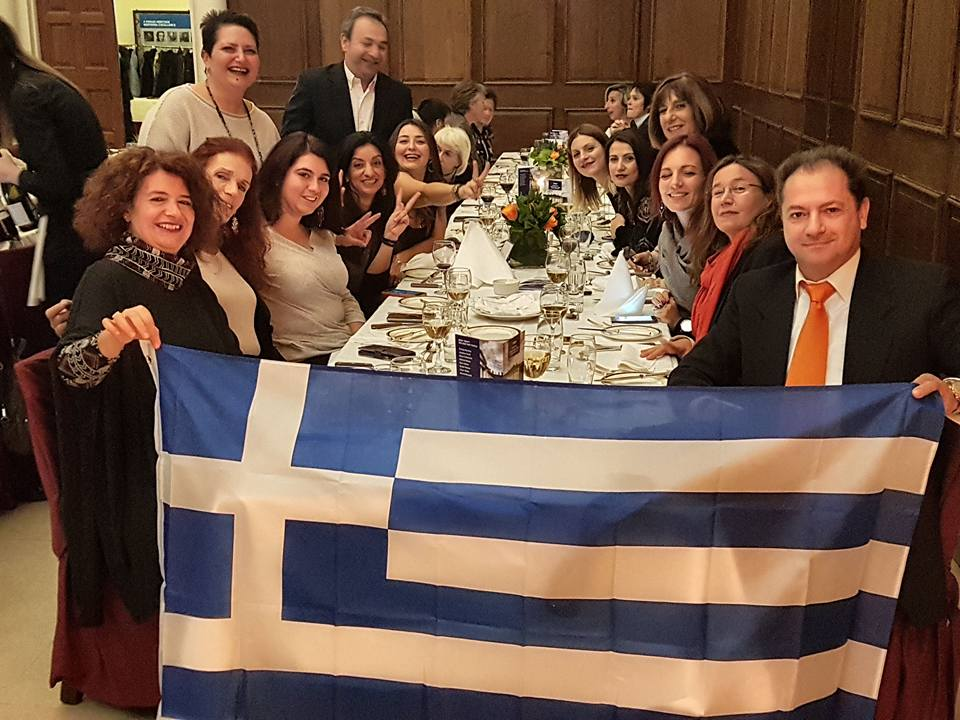 GREEK DELEGATION IN FEG DUBLIN