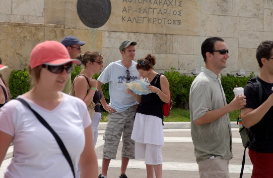 tourists athens 958511881