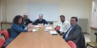 Συνάντηση του ΔΣ Ξεναγών Κρήτης με τον υπευθυνο τουρισμου ΠΑΣΟΚ